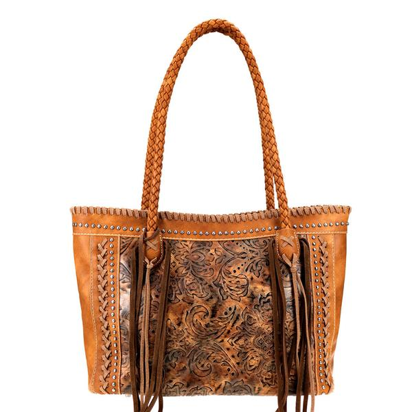 Montana West Tooled Collection Tote